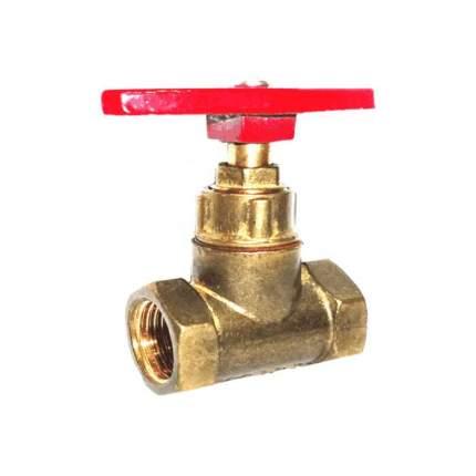 Вентиль/клапан запорный латунь 15б1п Ду 25 Ру16 ВР прямой Цветлит ZW20010
