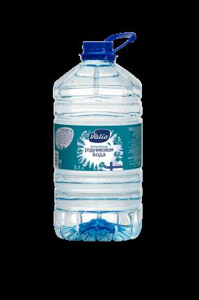 Минеральная вода Valio родниковая без газа  5.1 л
