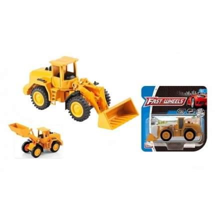 Металлическая модель Play Smart Fast Weels Трактор с ковшом