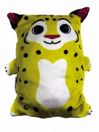 Обликулс 2 в 1: Худи детский с капюшоном и игрушка Лео, цв. худи желтый, р.122