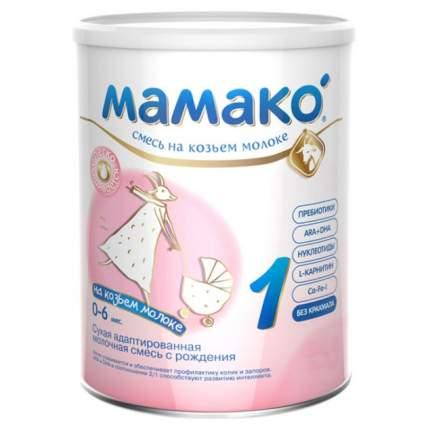 Смесь на основе козьего молока Mamako Premium 1 от 0 до 6 мес. 800 г