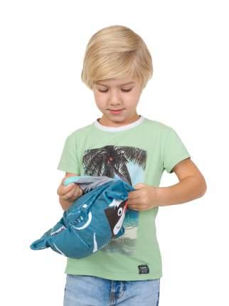 Обликулс 2 в 1: Худи детский с капюшоном и игрушка Пандига, цв. худи мятный, р.104
