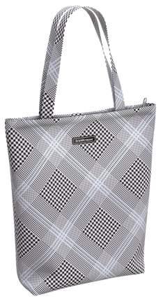 Женская сумка ErichKrause Black&White 14L 48930 Белый; Черный