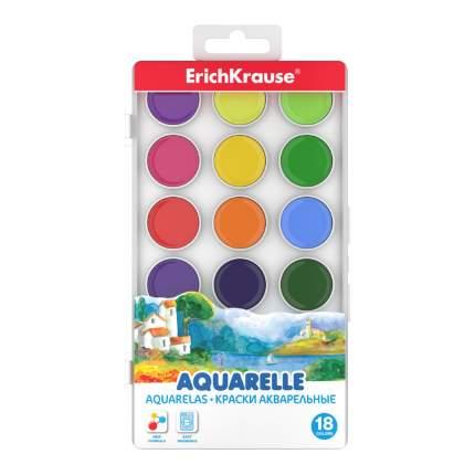Краски акварельные ErichKrause18 цв