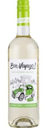 Вино Безалкогольное BON VOYAGE  Совиньон Блан белое слабогазированное 0,75л0,75л