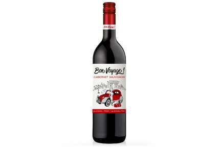Вино безалкогольное BON VOYAGE Каберне Совиньон  0,75л