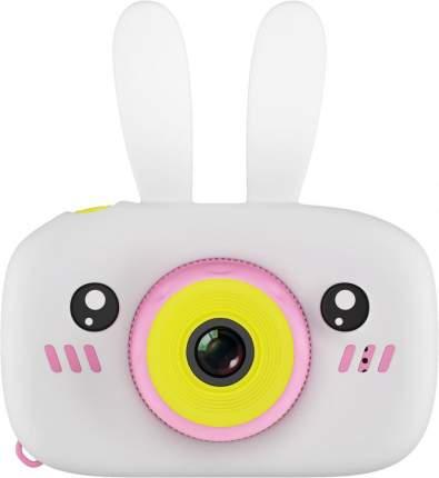 Фотоаппарат цифровой компактный GSMIN Fun Camera Rabbit White/Pink
