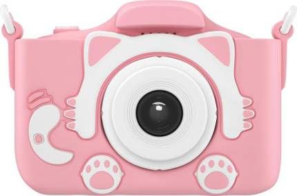 Фотоаппарат цифровой компактный GSMIN Fun Camera Kitty Pink