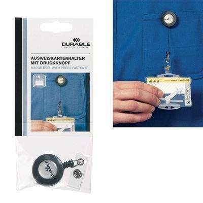 Держатель для бейджей DURABLE роликовый до 80 см., с клипом в пакете с европодвесом