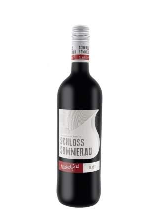 Вино безалкогольное SCHLOSS SOMMERAU  красное 0,75л