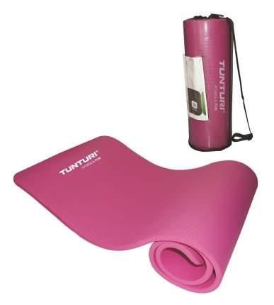 Коврик для фитнеса Tunturi NBR, с мешком для хранения, розовый