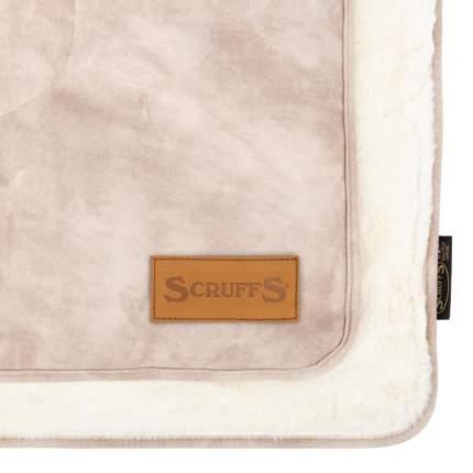 """Коврик-одеяло SCRUFFS для животных """"Kensington"""", экозамша, бежевое, 110х72.5см"""