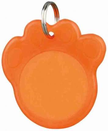 Адресник фосфоресцирующий Trixie 3,5 см, оранжевый