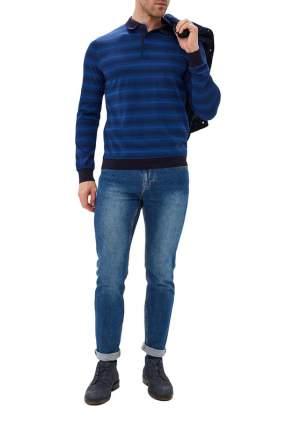 Рубашка мужская La Biali L9683-1/219-4 синяя 3XL