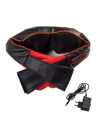 Роликовый массажер для тела c ИК-прогревом Soft Roller FITSTUDIO (черно-красный)