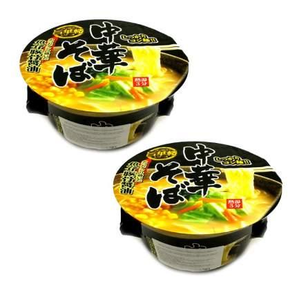 Лапша быстрого приготовления Ямамото Сейфун Умакарс со вкусом свинины (2 шт. по 77 г)