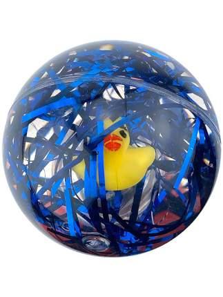 Мячик-попрыгунчик светящийся, синий