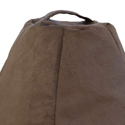 Кресло-мешок Kreslo-Puff Mustang XXXL, коричневый