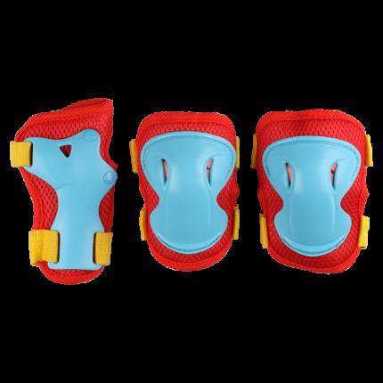 Комплект защиты Los Raketos Combi LRС-001; красный; M