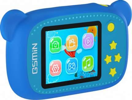 Фотоаппарат цифровой компактный GSMIN Fun Camera Bear Blue