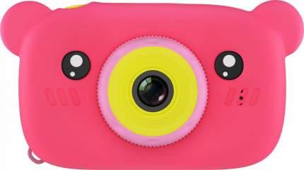 Фотоаппарат цифровой компактный GSMIN Fun Camera Bear Pink