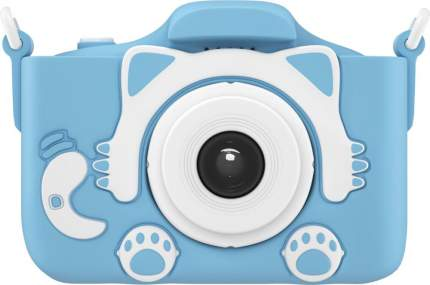 Фотоаппарат цифровой компактный GSMIN Fun Camera Kitty Blue