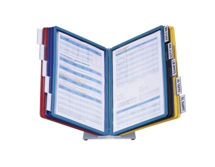 Cистема VARIO настольная демонстрационная, с 10 панелями с табуляторами, панели ассорти