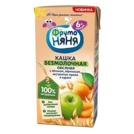 Каша Фрутоняня безмолочная овсяная с яблоком, абрикосом, экстрактом изюма и кураги 0.2 л.