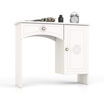 Туалетный столик Мебельный Двор Онега ТС-1 белый 90х31х75