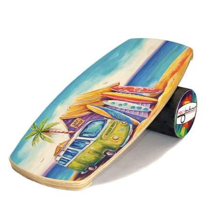 Балансборд Pro Balance Surf Vagon разноцветный