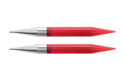 """Спицы съемные """"Trendz"""", 12 мм, для длины тросика 28-126 см, цвет: красный, 2 штуки"""