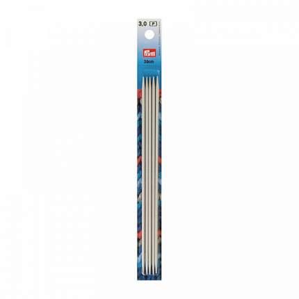 Спицы чулочные алюминиевые, 3х200 мм