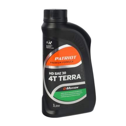 Масло минеральное PATRIOT G-Motion HD SAE 30 4Т TERRA 1л