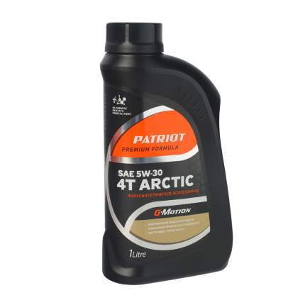 Масло полусинтетическое PATRIOT G-Motion 5W30 4Т ARCTIC 1л