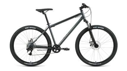 """Велосипед Forward Sporting 29 2.2 disc 2021 17"""" черный/темно-серый"""