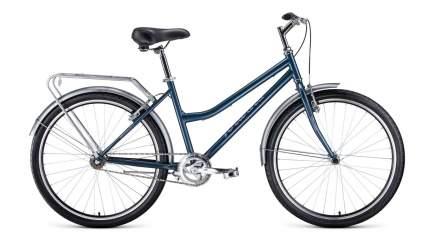 "Велосипед Forward Barcelona 26 1.0 2021 17"" серый/бежевый"