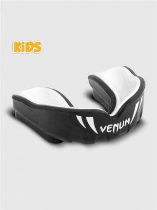 Капа боксерская детская с футляром Venum Challenger Black/White