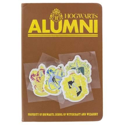 Блокнот с наклейками Гарри Поттер - Факультеты Хогвартса (200 стр)