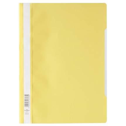 Durable Папка-скоросшиватель для документов А4 с корешком для маркировки Желтый