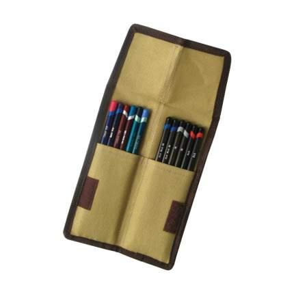 Пенал для 12 карандашей карманный