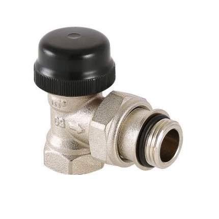 """Клапан термостатический угловой с преднастройкой 1/2"""" VT.037.N.04"""