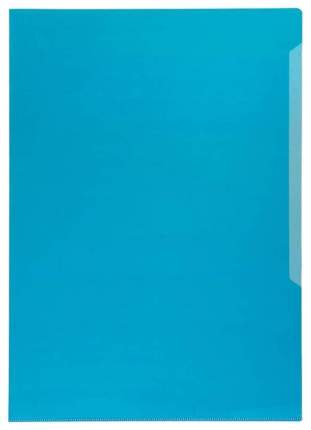 Durable Папка-уголок Durable, полипропилен, 120 мкм, А4, 10 штук Синий