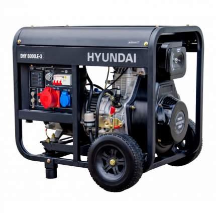 Генератор Hyundai DHY 8000LE-3