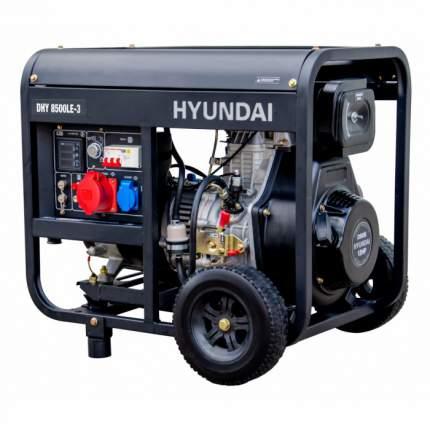 Генератор Hyundai DHY 8500LE-3
