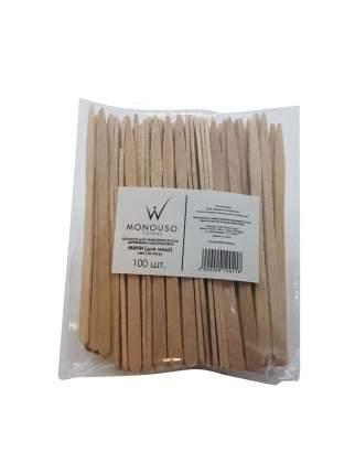 Шпатели деревянные Italwax Мини для лица 100 штук