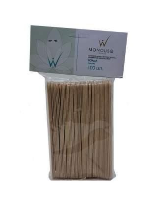 Шпатели деревянные Italwax Норма 100 штук