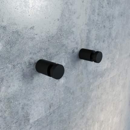 Комплект одинарных крючков, сплав металлов, Petite, черный матовый, IDDIS, PET2SB1i41