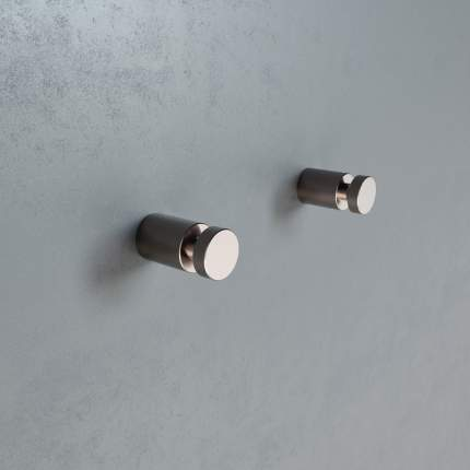 Комплект одинарных крючков, сплав металлов, Petite, сатин, IDDIS, PET2SS1i41