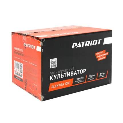 Культиватор электрический PATRIOT ELEKTRA 1000 мощность 1000Вт, ширина обработки 360 mm