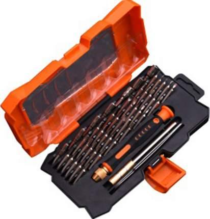 Набор для точных работ, отвертка и биты в пласт. пенале HARDEN 550131